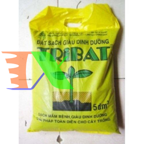Ảnh của Đất rau mầm Tribat (túi 5dm3) 2,5kg
