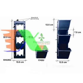 Ảnh của Module vườn tường đứng (TX-WALL-01)