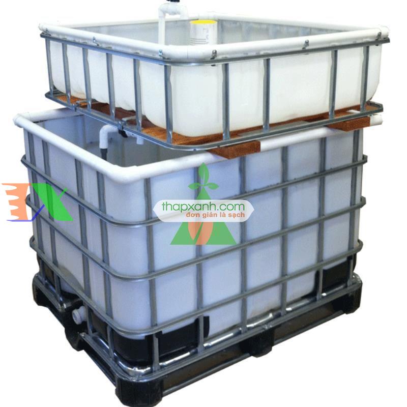 Lắp đặt hệ thống Aquaponics