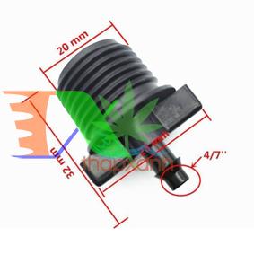 """Picture of Khởi thủy ren 1/2"""" 20-21 ra gân 4/7 KT47.21, Côn thu 21 sang dây PE LDPE PVC 4/7 6 mm"""