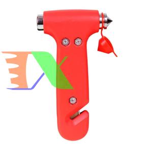Picture of Búa đập kính thoát hiểm AZU-B13, Rìu thoát hiểm kèm dao cắt dây an toàn cho xe ô tô, xe hơi