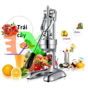 Ảnh của Máy ép cam ORG-9 Vortex, Dụng cụ ép trái cây, Hoa quả bằng tay Inox, Ép bưởi, Thơm Táo Lựu