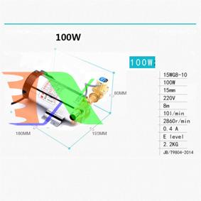 Ảnh của Máy bơm tăng áp cảm biến tự động TBA-100W, Máy bơm áp cho bình nóng lạnh, máy giặt, Máy lọc nước