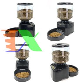 Ảnh của Máy tự động hẹn giờ cho Pet ăn (Chó, mèo) PFD-01, Máy cho chó ăn 3 bữa, bình chứa 5.5 lit