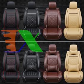 Ảnh của Áo ghế trước xe ô tô A00.1 1 Ghế, Áo ghế xe hơi, Bọc da ghế xe, Trùm ghế xe tải