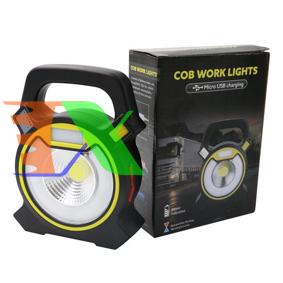 Picture of Đèn pin xách tay, Đèn xách tay Led COB kết hợp sạc dự phòng đa năng (W815)