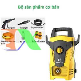 Picture of Máy rửa xe áp lực cao, máy phun nước áp lực cao đa năng Panda