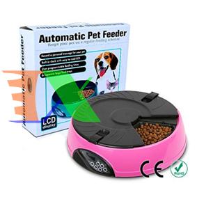 Ảnh của Máy tự động hẹn giờ cho Pet ăn (Chó, mèo), Khay hẹn giờ 6 ngăn PF-18