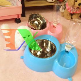 Ảnh của Khay ăn và uống nước bán tự động cho Pet ( Chó, mèo) MPD-02, Máng ăn uống, bát ăn cho chó mèo