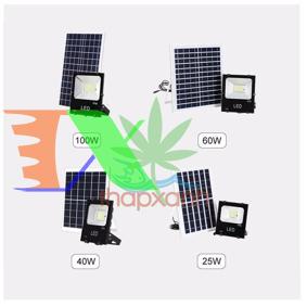 Ảnh của Đèn led năng lượng mặt trời cao cấp, Pin li-ion
