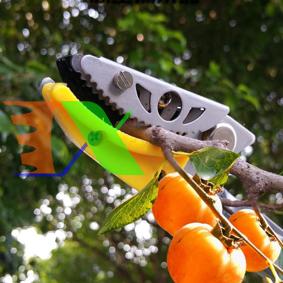 Ảnh của Dụng cụ hái quả HQ-4M, Sào hái trái cây trên cao có kẹp giữ (4m), Nhãn, Vải
