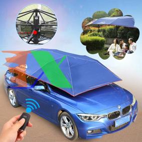 Ảnh của Ô che nắng ô tô DIK-AUTO, Dù che nắng xe hơi cao cấp điều khiển từ xa Dingku