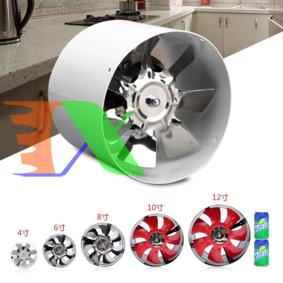 Picture of Quạt thông gió, quạt thông khí, quạt hút gió cho lều trồng GY-100 (20W)