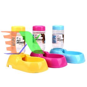 Ảnh của Khay uống bán tự động mini cho Pet (Chó, mèo) MPD-10, Khay nước cho chó mèo