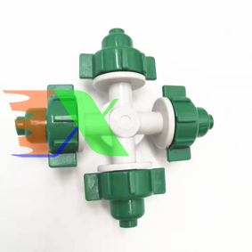 Ảnh của Béc tưới phun sương 4 đầu MT-3088C 32lit / h, Đầu tưới lan, tưới nhà kính, nhà màng