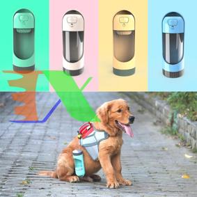 Ảnh của Bình nước tự động cho chó mèo TPC-1.03, Chai nước cho chó uống cầm tay, Dụng cụ cho pet uống nước