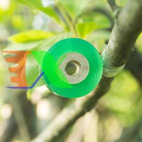 Ảnh của Cuộn băng ghép cành BGC-2, Cuộn phim ghép cây, Băng nilon ghép cành tự dính 2cm