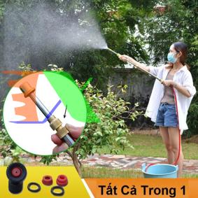 Ảnh của Bình xịt tưới khí nén BKN-63, Bơm tay hút nước, Bơm phun sương bằng đồng