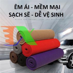 Ảnh của Thảm lót sàn ô tô T25.1 50x70 cm, Thảm Lót ghế trước xe hơi, Thảm lót ghế trước cao su