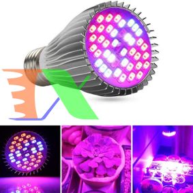 Picture of Đèn trồng cây, Đèn led trồng rau trong nhà, Led grow lights (30W, E27)