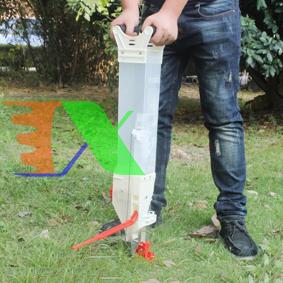 Picture of Máy gieo hạt giống TMG-01, Máy bón phân tự động 1 đầu ra, Dụng cụ gieo hạt bán tự động, Gieo Ngô, Lạc, Đậu