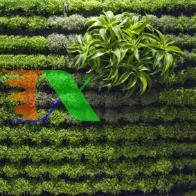 Ảnh của Túi trồng cây treo tường 64 hốc, Túi làm vườn tường trang trí, Túi trồng hoa, rau, cây cảnh