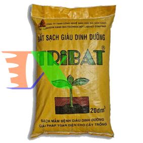 Ảnh của Đất Tribat dinh dưỡng 20dm3, Đất trồng cây có kèm phân bón, Trồng rau mầm, Rau, Hoa