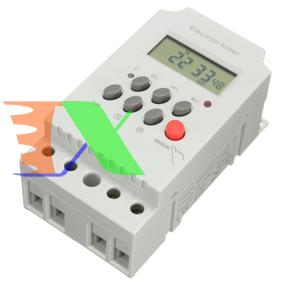 Ảnh của Thiết bị hẹn giờ điện tử KG316T-II 16 chế độ, Ổ cắm hẹn giờ trực tiếp công suất tải 5000W