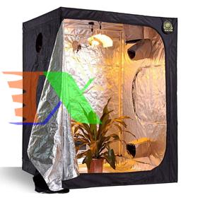 Picture of Lều trồng cây trong nhà 60*60*140 cm, Nhà trồng nấm, Vải 600D phản quang, Grow tent