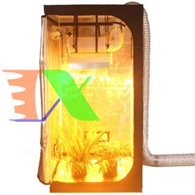 Picture of Lều trồng cây trong nhà 80*80*160 cm, Nhà trồng nấm, Vải 600D phản quang, Grow tent