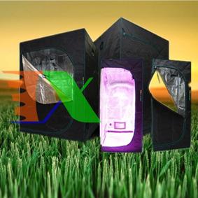 Picture of Lều trồng cây 240*240*200 cm, Nhà trồng nấm, Vải 600D phản quang, Grow tent