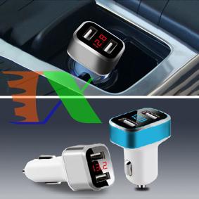 Picture of Tẩu chuyển USB AUZ-2P, Sạc điện thoại thông minh trên ô tô, Đầu chuyển Tẩu sạc sang USB xe hơi