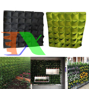 Picture of Túi trồng cây treo tường 36 lỗ, Túi làm vườn tường trang trí, Túi trồng hoa, rau, cây cảnh