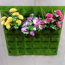 Ảnh của Túi trồng cây treo tường 36 lỗ, Túi làm vườn tường trang trí, Túi trồng hoa, rau, cây cảnh