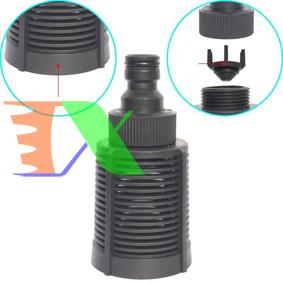 Ảnh của Lọc thô đầu ống hút nước LOC-50 mm, Lọc lắp đầu nối nhanh, ren ngoài 27, Lọc đầu hút chất lỏng