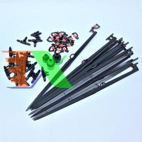 Ảnh của Bộ Kit 16 Que cắm tưới xoay đầy đủ dây, phụ kiện, TX-DIY-01, Kit tưới tự lắp DIY Béc Tưới xoay 306 độ