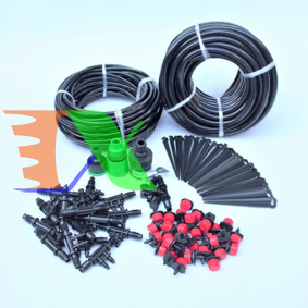 Ảnh của Bộ Kit 32 Đầu béc tưới 8 tia đầy đủ dây, phụ kiện TX-DIY-03, Bộ tưới nhỏ giọt 8 tia cho rau hoa tự láp DIY