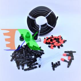Ảnh của Bộ Kit 32 Đầu béc phun sương 10lit đầy đủ dây, phụ kiện TX-DIY-04, Bộ tưới phun sương làm mát, tưới hoa lan DIY