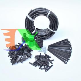 Picture of Bộ Kit 18 Đầu béc nhỏ giọt 8lit đầy đủ dây, phụ kiện TX-DIY-061, Tưới rau tự lắp ráp, tưới cây, hoa DIY