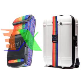 Picture of Dây đai khóa Vali DK3S-2M, khóa hành lý chống trộm 3 số, Dài 2m, Đai khóa va li máy bay chống trộm