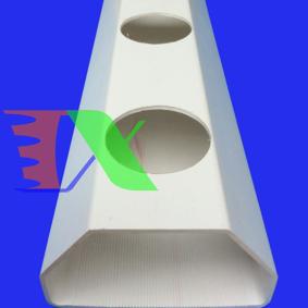 Ảnh của Ống PVC chuyên dụng thủy canh, Ống NTF lục giác 100*60, Ống trồng rau thủy canh 6 cạnh