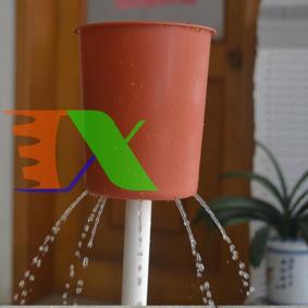Ảnh của Phễu trồng khí canh D110 11 cm, Phễu tạo mưa cho thủy canh trụ đứng, Phễu nước khí canh