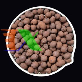 Ảnh của Hạt đất nung, Sỏi nhẹ, Đất sét nung (Bịch 2 lit - dm3), Sỏi nhẹ trồng lan, Giá thể trồng rau