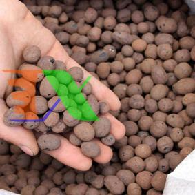 Picture of Sỏi nhẹ, Hạt đất sét nung nguyên bao, Viên sỏi hạt nhỏ 5-10 mm, Expanded clay pebbles