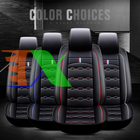 Ảnh của Áo ghế ô tô 5D, Áo ghế xe hơi, Bọc da ghế xe 5D A28 5 ghế, Bọc ghế ô tô 4 - 5 chỗ