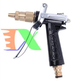 Ảnh của Vòi xịt nước tưới cây VOI-D5T1, Đầu vòi đồng rửa xe đa năng 5 trong 1, Vòi phun kim loại  áp lực cao