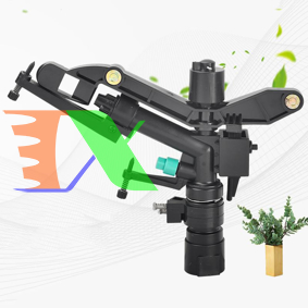 """Picture of Đầu bec tưới cánh đập xoay 360° MS-9816, Súng phun nước tưới cây 1"""" ren 32, Sprinkler Big Gun"""