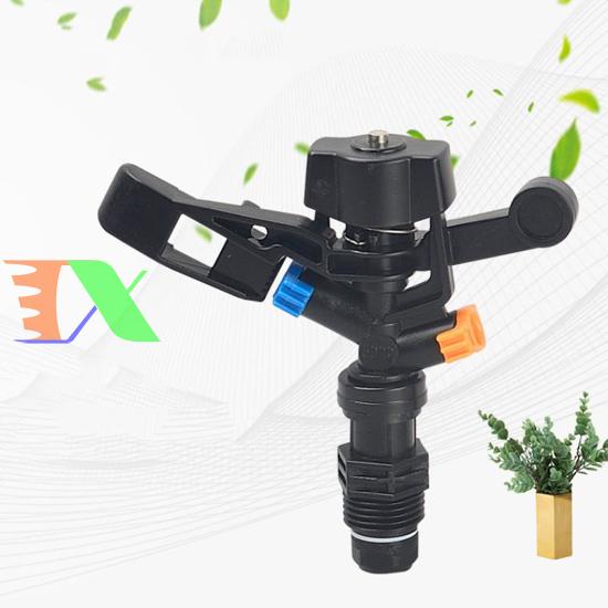 """Picture of Đầu bec tưới cánh đập xoay 360° MS-5022A, Súng phun tưới cây 1/2"""" ren 21, Sprinkler Gun"""