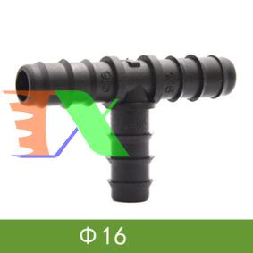 Ảnh của Tê chia cho ống Φ16 mm TE16, T chia 3 cho ống PE, LDPE, HDPE, PVC D16