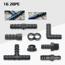 Picture of Góc 90° cho ống Φ20 mm GOC20, Cút góc ống PE, LDPE, HDPE, PVC D20, Cua góc 90 độ